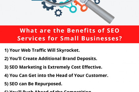 What are the Benefits of SEO Services for Small Businesses? Infographic