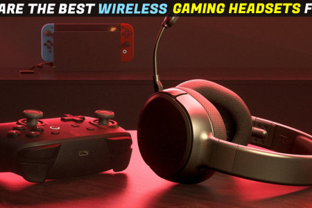 What are the Best Wireless Gaming Headsets for PC Infographic