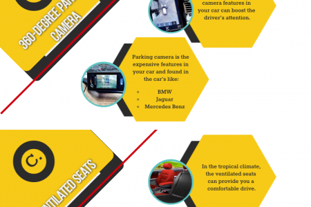 What are the Luxurious Features Found in Regular Cars? Infographic