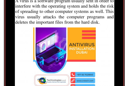 What are the Uses of Antivirus Installation Dubai? Infographic