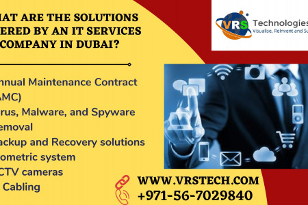 What are Various Solutions offered by IT Services Company Dubai? Infographic