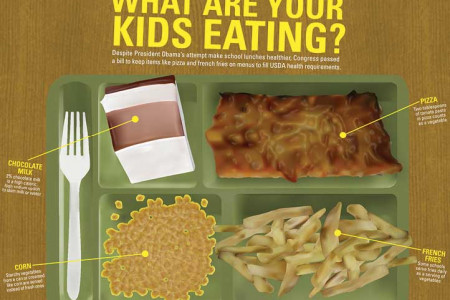 What Are Your Kids Eating? Infographic