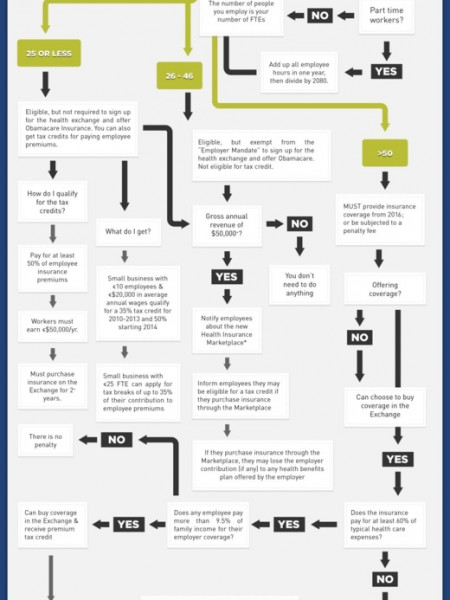 What Do I Do About Obamacare? A Guide for Small Businesses Infographic