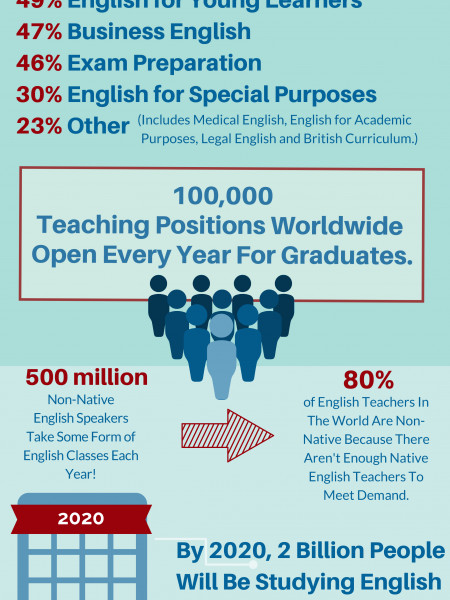 What Do TEFL Graduates Look Like Infographic