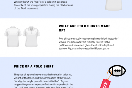 What Do You Need To Know About Polo Shirts Infographic