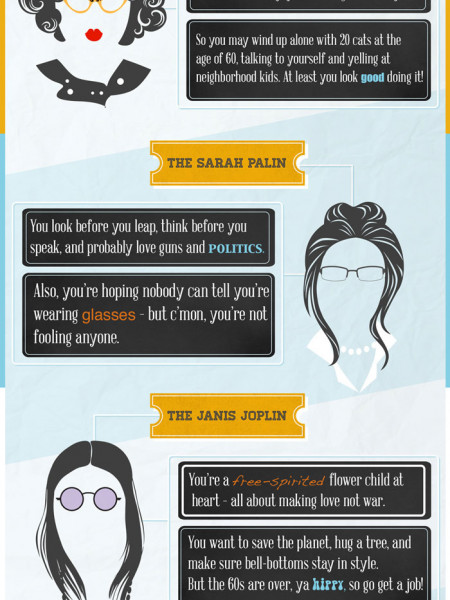 What Do Your Glasses Say About You Infographic