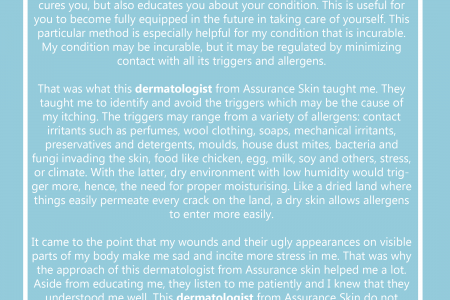 What Doctors From This Clinic Have Taught Me Regarding my Eczema Infographic