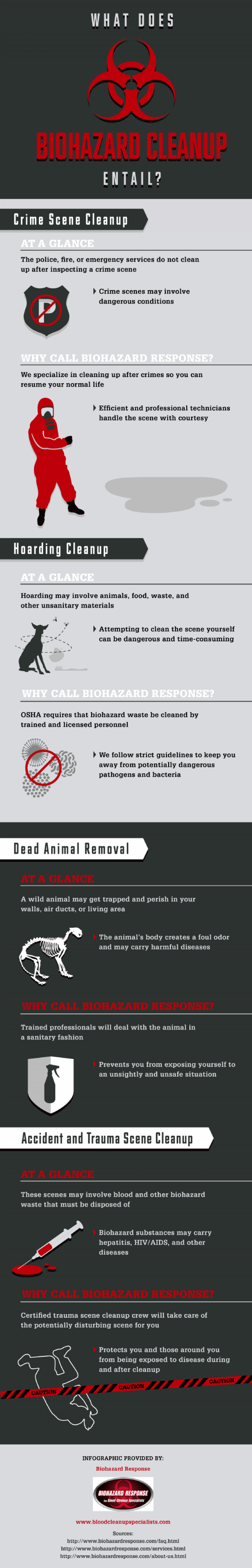 What Does Biohazard Cleanup Entail? Infographic