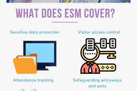 What does ESM cover? Infographic