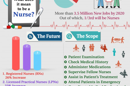 What Does it Mean to be a Nurse?  Infographic
