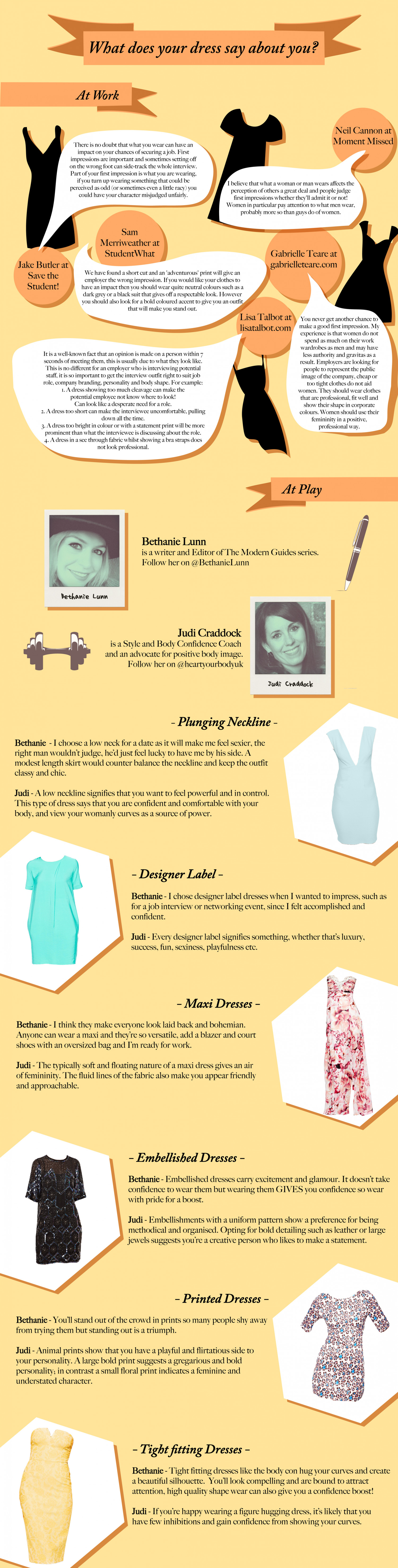 What Does Your Dress Say About You? Infographic