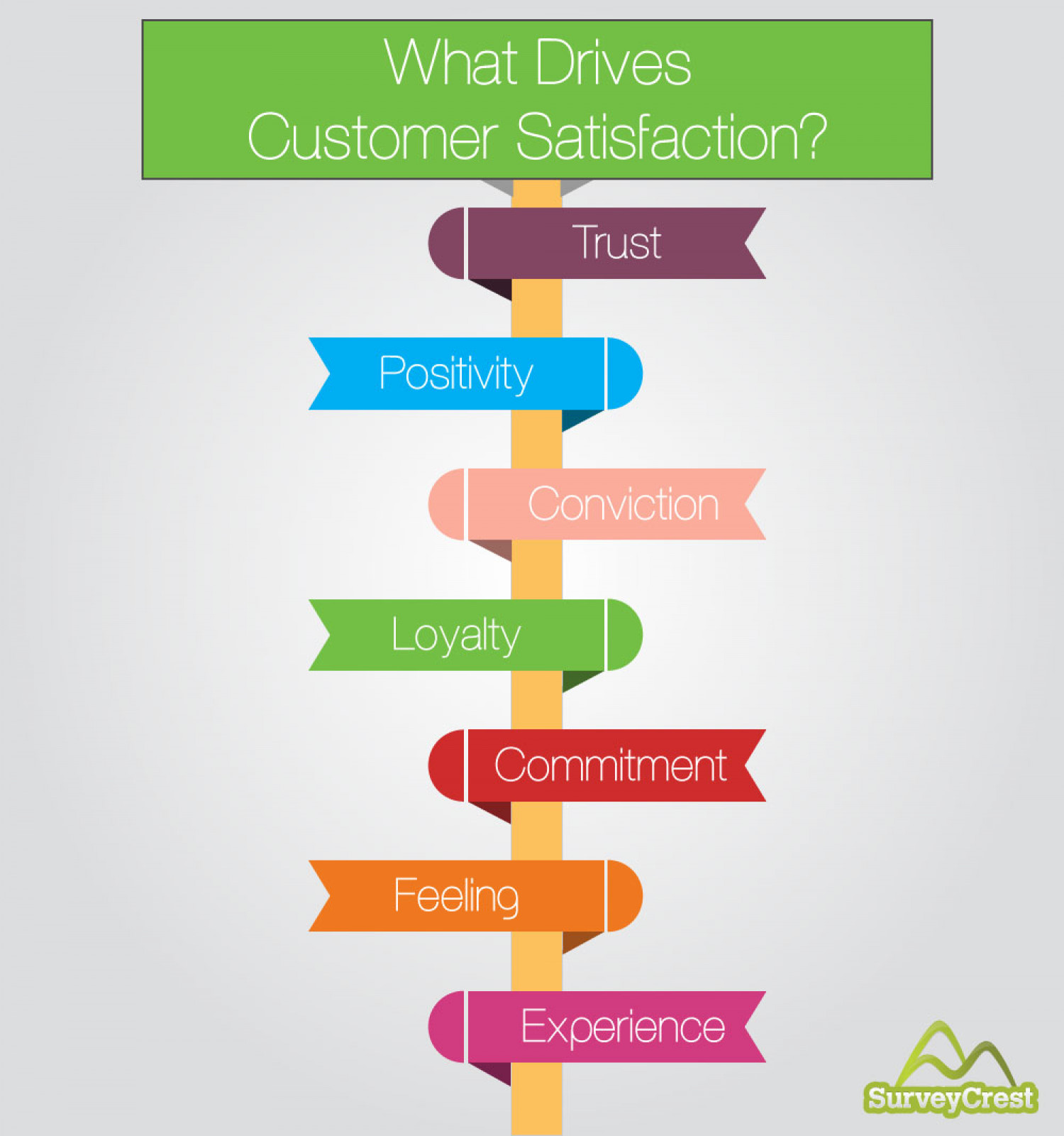 What Drives Customer Satisfaction? Infographic