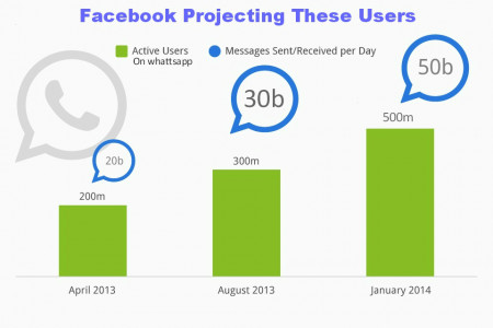What Facebook wants from Whatsapp? Infographic
