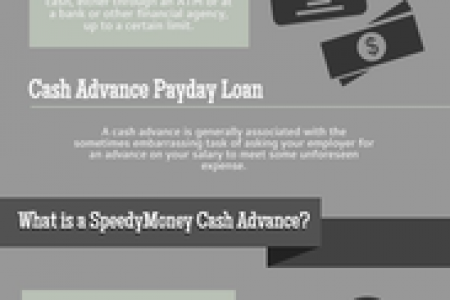 What is A Cash Advance Infographic