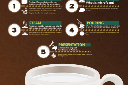 What is a Flat White? Infographic