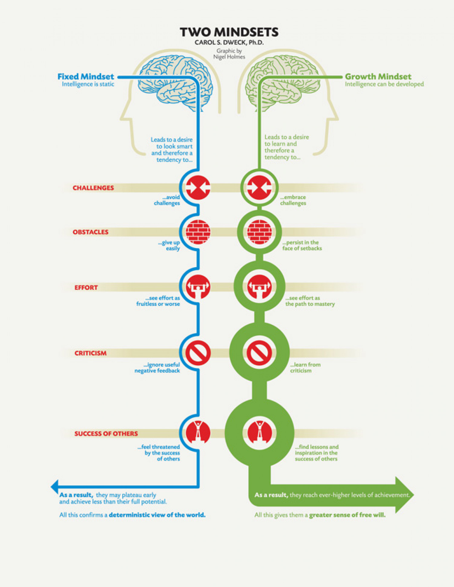 Two types of mindsets that can be adopted by a CEO