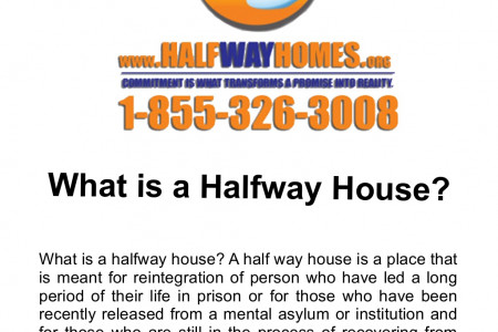 What is a Halfway House? Infographic