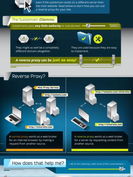 What is a Reverse Proxy and How Can It Help My SEO? Infographic