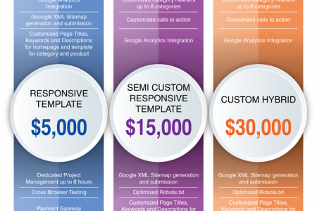 What is a standard costing Magento development company offer for PSD to Magento theme conversion? Infographic