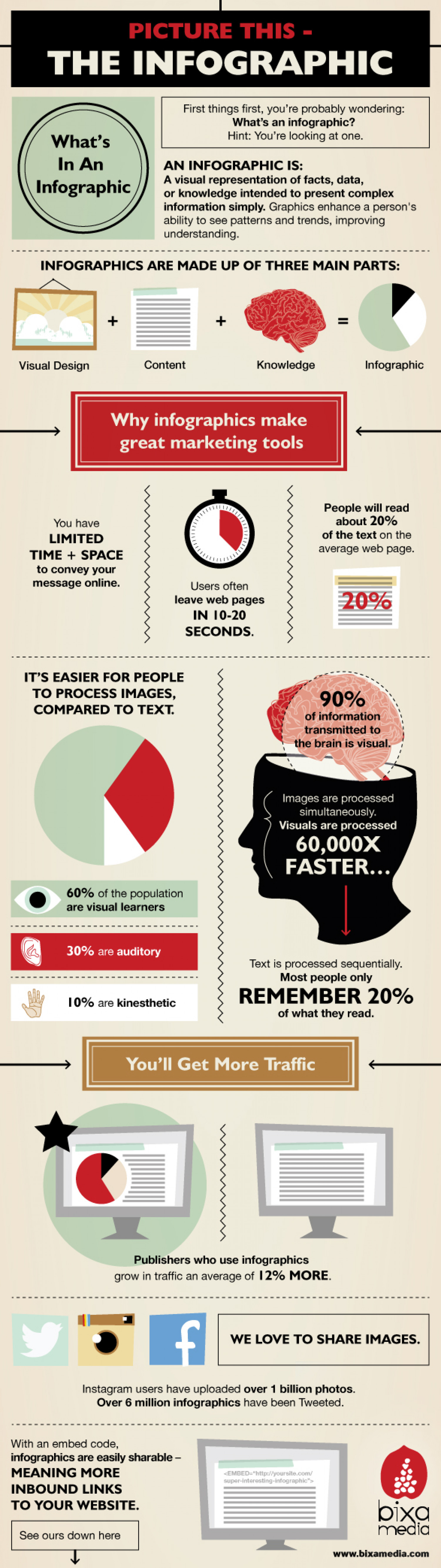Picture This- The Infographic Infographic