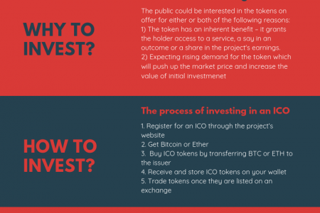 What is an Initial Coin Offering ICO? Infographic