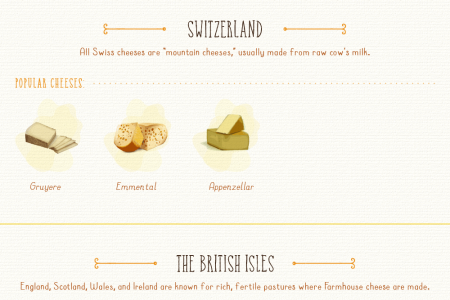 What is artisan cheese Infographic