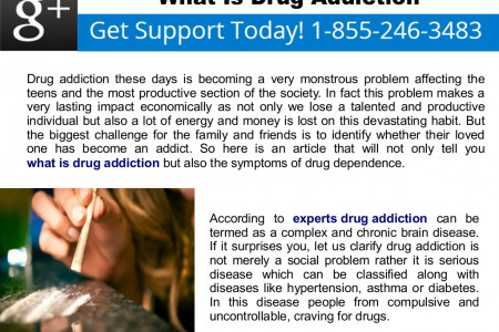 What Is Drug Addiction Infographic