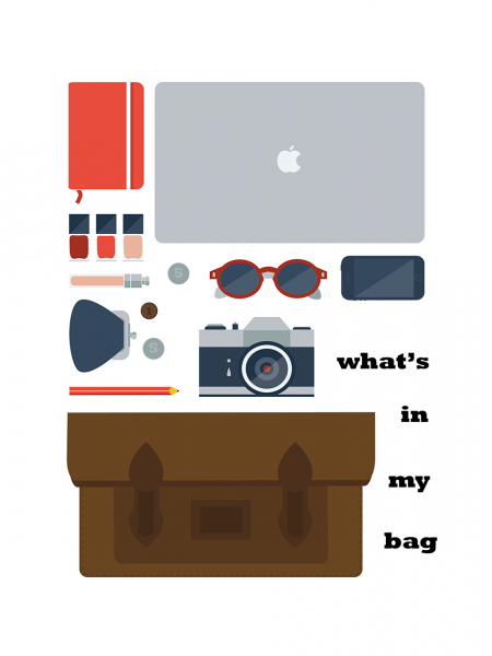 What's in My Bag Infographic