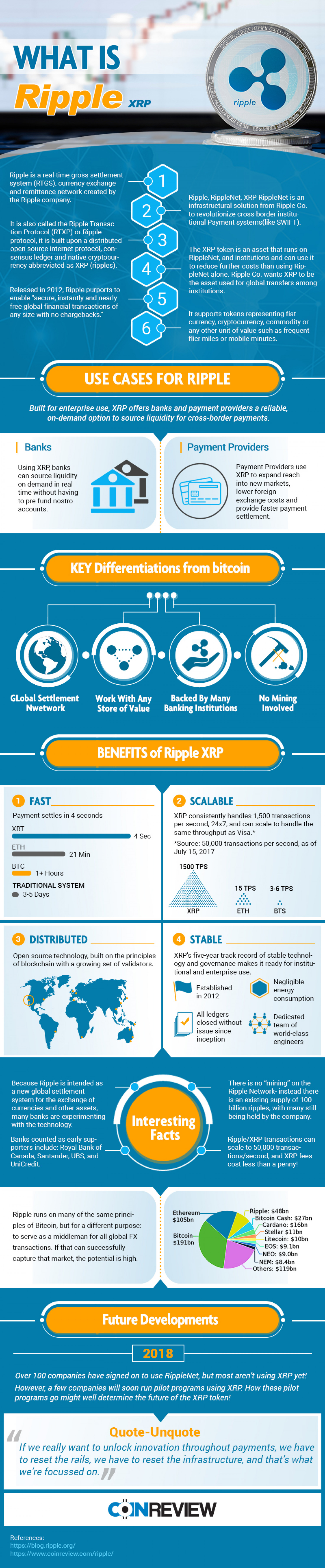 What is Ripple? Here's All the Information You Need! Infographic