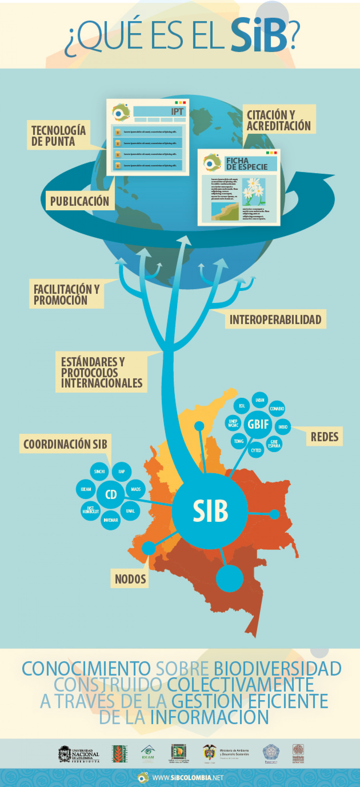 What is SiB Colombia? Infographic