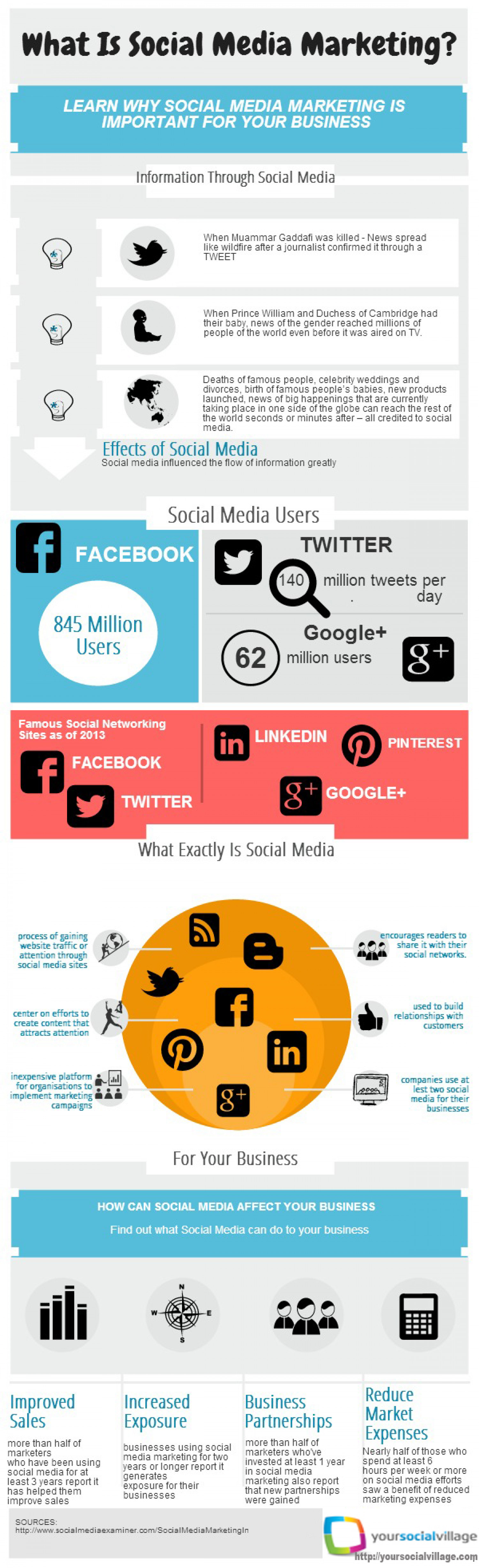 What Is Social Media Marketing Infographic