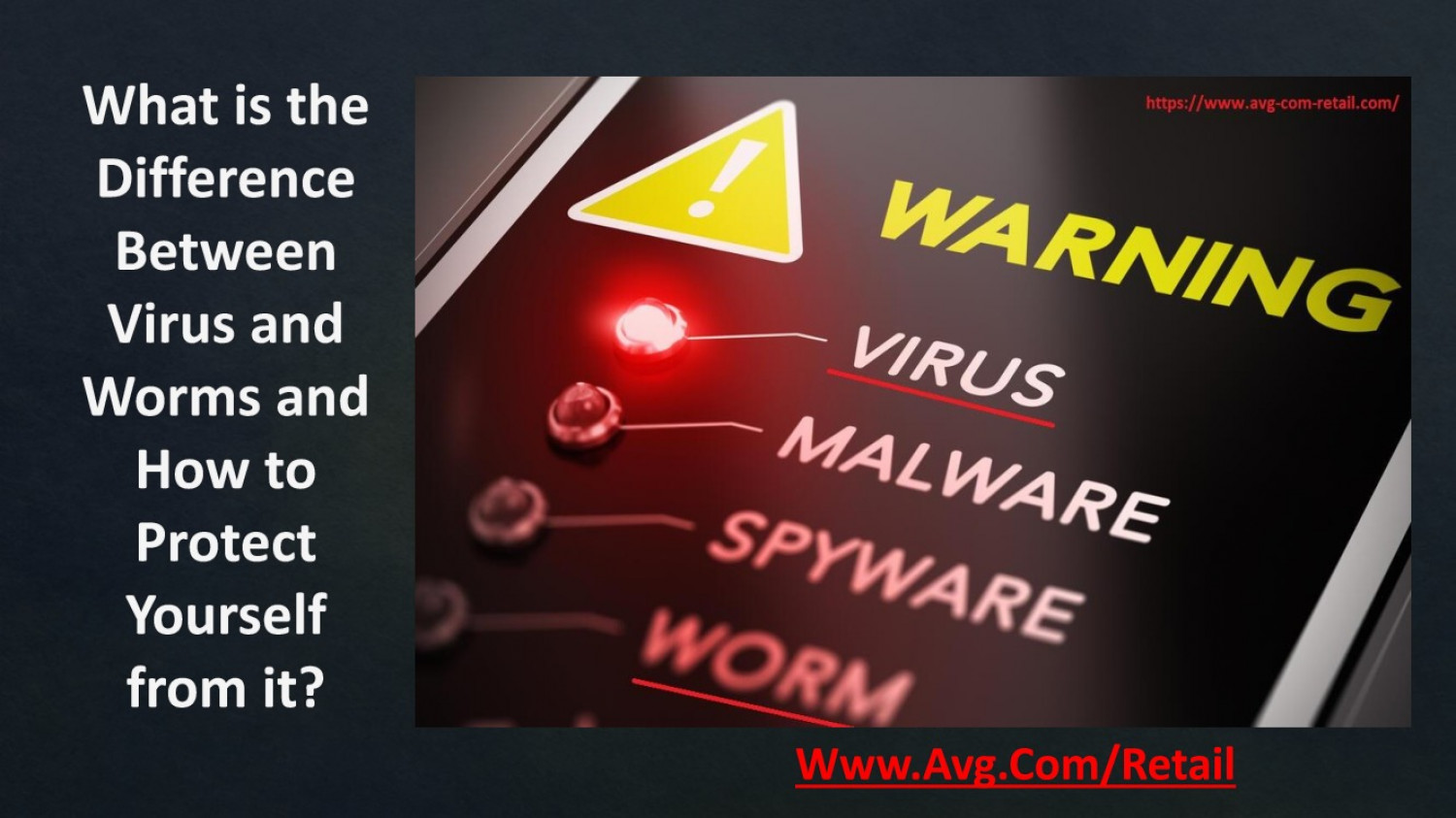 What is the Difference Between Virus and Worms and How to Protect Yourself from it? Infographic