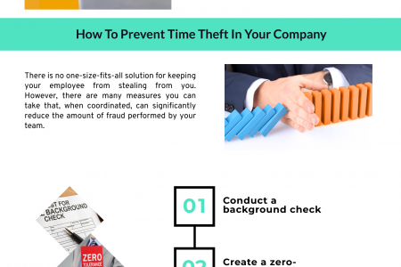 What Is Time Theft and How to Prevent It Infographic