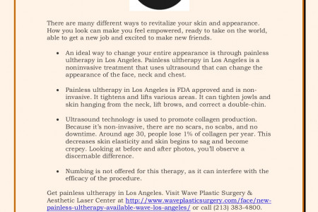 What is Ultherapy? Infographic