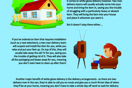 What Is White Glove Delivery? Infographic