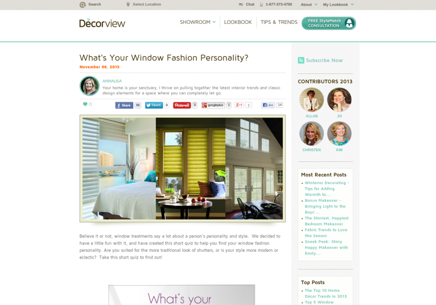 What is Your Window Fashion Personality  Infographic