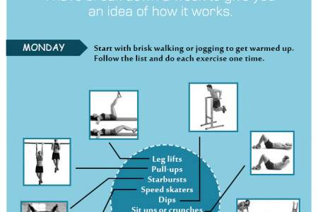 What is Your Workout Plan For This Summer Infographic