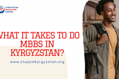 What it takes to do MBBS in Kyrgyzstan? Infographic
