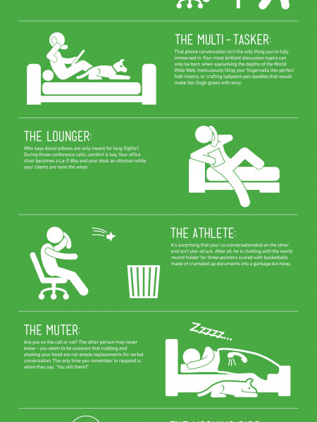 Which Kind of Phone Talker are You? Infographic