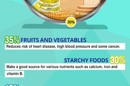 What Makes a Balanced Diet? Infographic