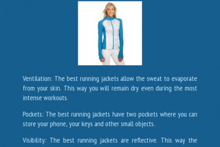 What Makes A Great Running Jacket? Infographic