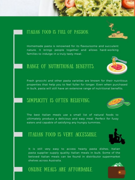 What Makes Italian Pasta So Special? Infographic