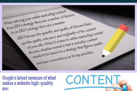 What makes Quality Content? Infographic