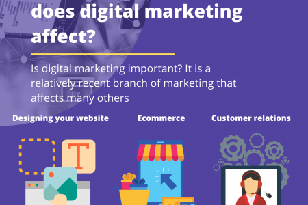 What other branches does digital marketing affect? Infographic