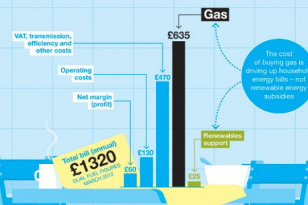 What puts up your gas bill in the UK? Infographic