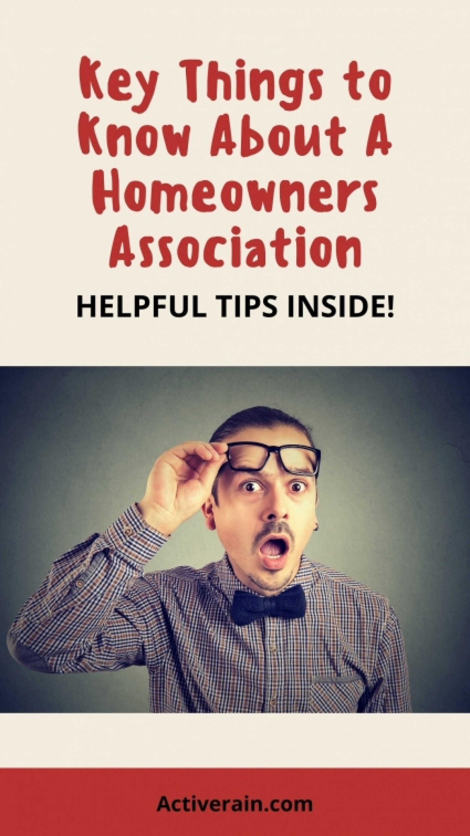 What Should I Know About Homeowners Associations Infographic