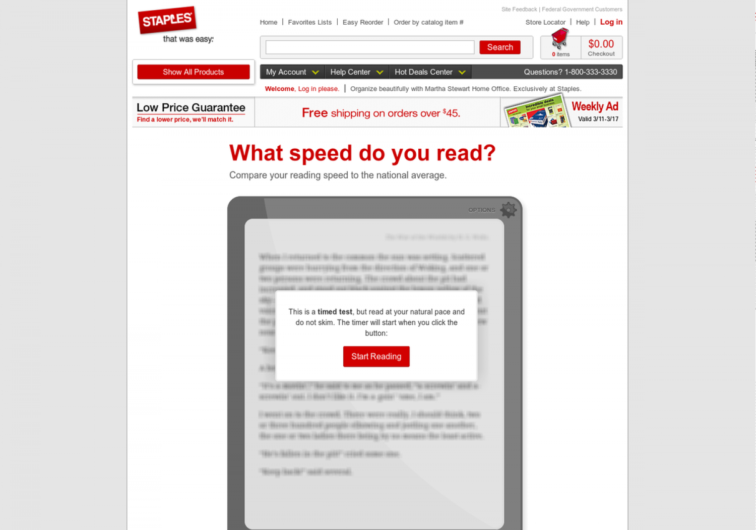 What speed do you read? Infographic