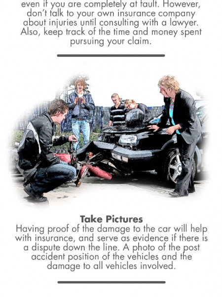 What to do if You've Been in a Serious Motor Vehicle Injury Infographic