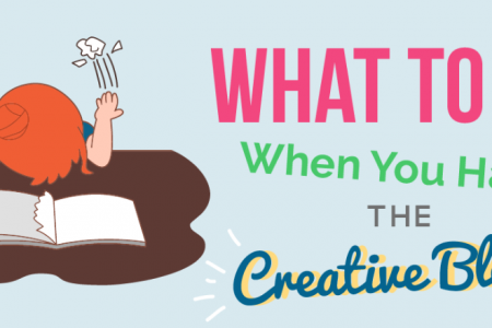 What To Do When You Have the Creative Block Infographic