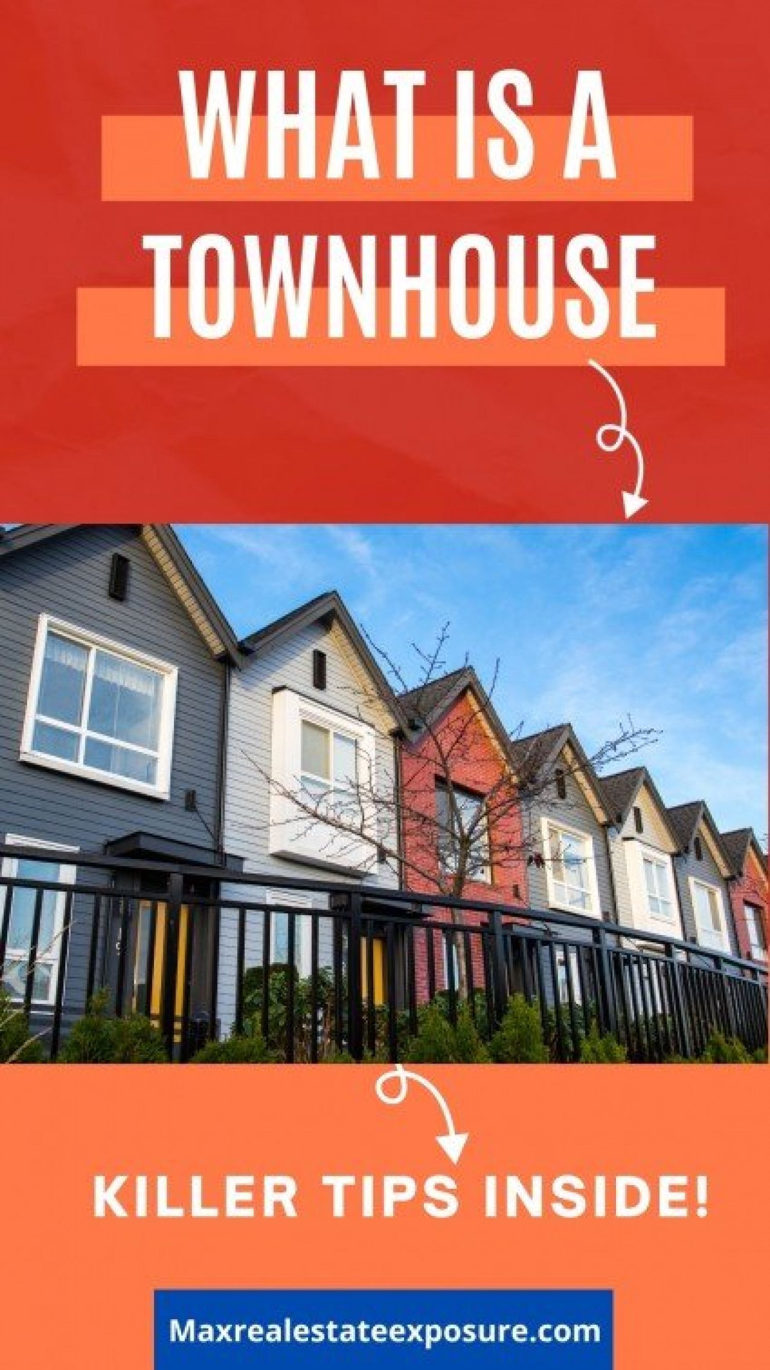 What to Know About Townhouses Infographic